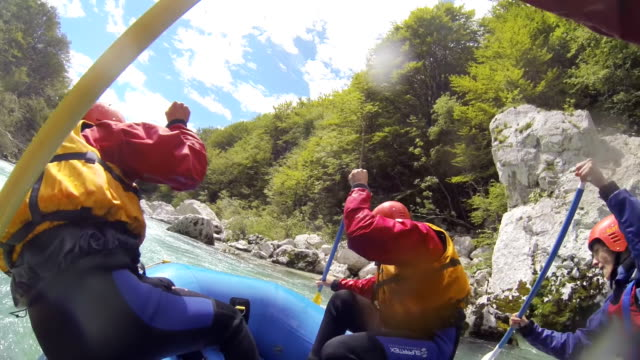 ms whitewater rafting - inflatable raft stock videos and b-roll footage