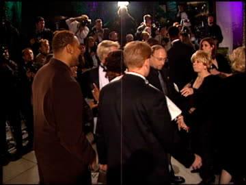whitney houston at the 1999 academy awards vanity fair party at morton's in west hollywood, california on march 21, 1999. - whitney houston stock-videos und b-roll-filmmaterial