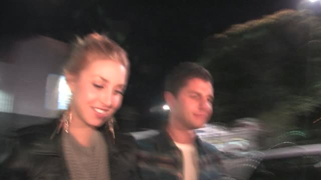 whitney port at the black eyed peas' seventh annual peapod benefit concert at the celebrity sightings in los angeles at los angeles ca - the black eyed peas band stock videos and b-roll footage