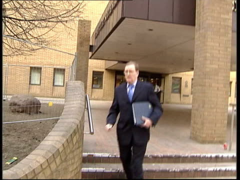 'Who Wants to be a Millionaire' court trial Whittock leaving court