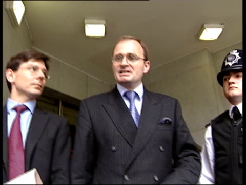 deception charges ITN ENGLAND London Major Charles Ingram towards from police station as tells press that he has nothing to say then along to waiting...