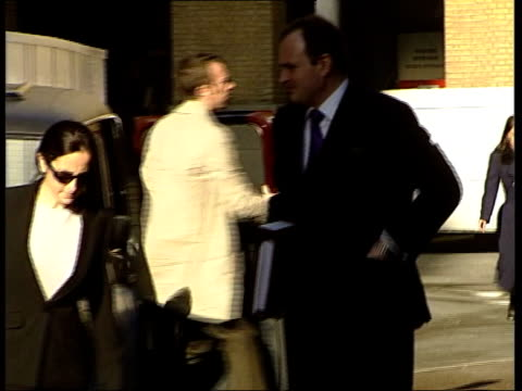 'who wants to be a millionaire' fraud trial: day 2; itn england: london: southwark: ext major charles ingram, accused of trying to defraud the... - television game show stock videos & royalty-free footage