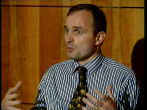 'Who Wants To Be A Millionaire' three arrested LIB Wiltshire Major Charles Ingram press conference SOT Denies allegations regarding coughing LIB EXT...