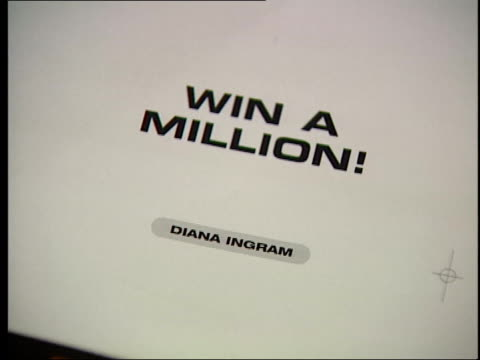 'who wants to be a millionaire' trial verdict john blake interviewed sot they were deeply obsessed by it/ describes how diana igram and brother... - millionnaire stock videos & royalty-free footage