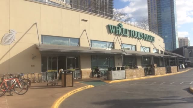 whole foods market is voluntarily recalling maytag brand raw milk blue cheese nationwide due to possible contamination with listeria monocytogenes... - whole foods market stock videos and b-roll footage