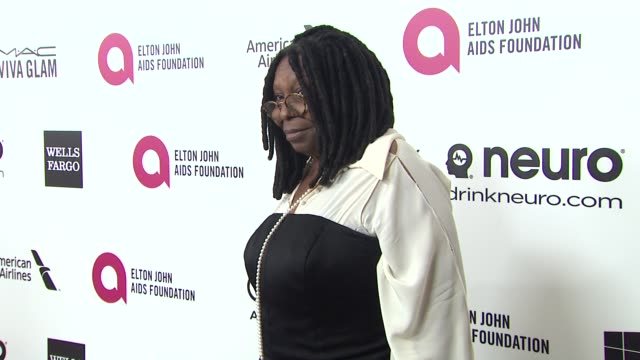 whoopi goldberg at elton john aids foundation presents 22nd annual academy awards viewing party sponsored by chopard neuro drinks and wells fargo on... - whoopi goldberg stock videos & royalty-free footage
