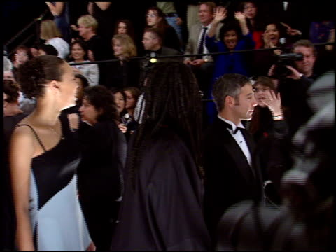 whoopi goldberg at the 1998 people's choice awards arrivals at barker hanger in santa monica california on january 11 1998 - whoopi goldberg stock videos & royalty-free footage