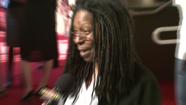 whoopi goldberg at the katie couric and friends 'strike out colon cancer' for the eif's national colorectal cancer research alliance at chelsea piers... - whoopi goldberg stock videos & royalty-free footage