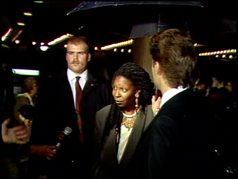 whoopi goldberg at the 'look who's talking too' premiere at century plaza in century city california on december 13 1990 - whoopi goldberg stock videos & royalty-free footage