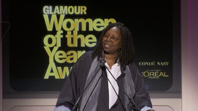 speech whoopi goldberg on being a fan of the clinton family on chelsea clinton taking the family legacy of public service to a new level whoopi... - whoopi goldberg stock videos & royalty-free footage
