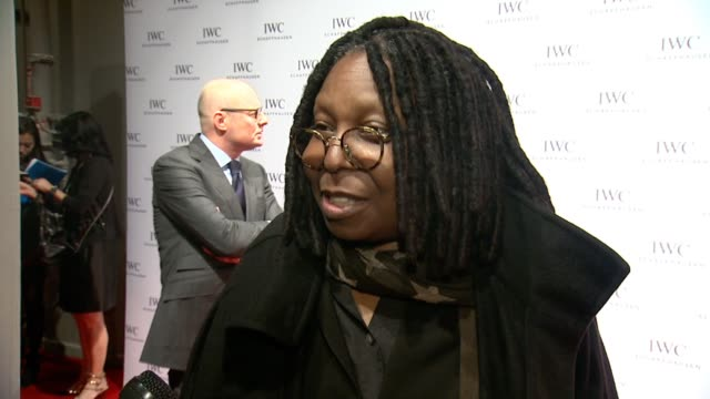 interview whoopi goldberg on how long she's been part of the festival at iwcs for the love of cinema at urban zen loft on april 17 2014 in new york... - whoopi goldberg stock videos & royalty-free footage