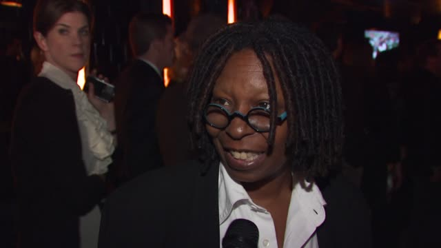 whoopi goldberg talking about coming to party with her brother having great arguments with her brother about football excited to meet barry sanders... - whoopi goldberg stock videos & royalty-free footage