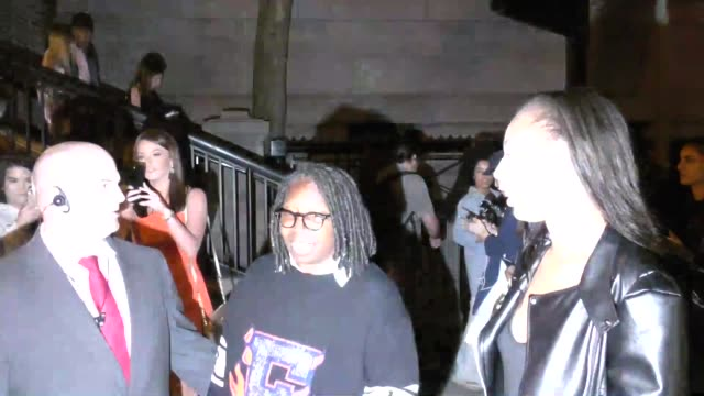 interview whoopi goldberg talks about rihanna's clothing line at fashion week in new york at fashion week in new york in celebrity sightings in new... - whoopi goldberg stock videos & royalty-free footage