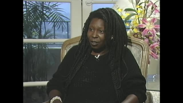 whoopi goldberg talks about the spirituality of indigenous peoples - whoopi goldberg stock videos & royalty-free footage