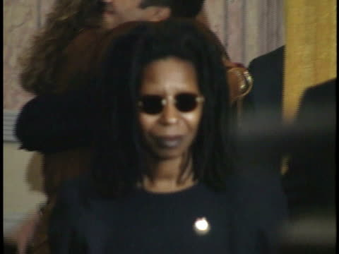 whoopi goldberg walking along red carpet - whoopi goldberg stock videos & royalty-free footage