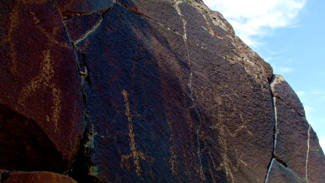Wide Ancient Native American Indian Rock Art at Petroglyph Lake Hart Mountain National Antelope Refuge 38