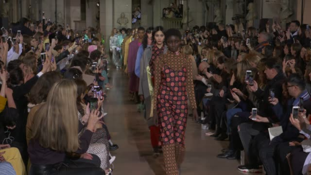 wide and detail runway shots and designer. - runway stock videos & royalty-free footage