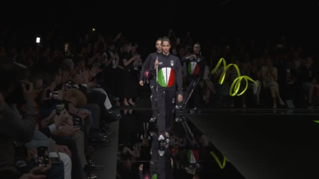 wide and detail runway shots and designer. - fashion week stock videos & royalty-free footage