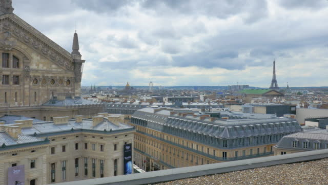 Wide Angle: Overlooking the City of Paris