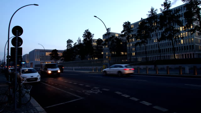 wide angle view of the new headquarter of the german federal intelligence service in the chausseestraße in berlin germany on february 04 2019 in... - legal defense stock videos and b-roll footage