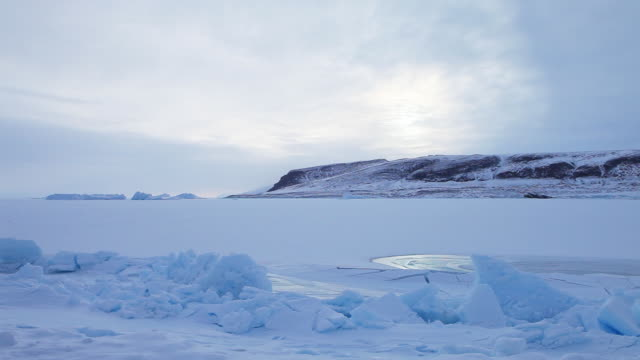 wide, arctic landscape in greenland - wide stock videos & royalty-free footage