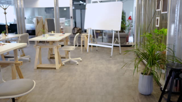 wide co-working space - coworking space stock videos and b-roll footage