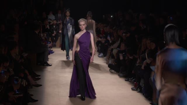 wide runway shots - roberto cavalli stock videos and b-roll footage