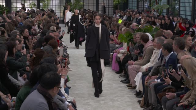 wide runway shots - valentino designer label stock videos & royalty-free footage