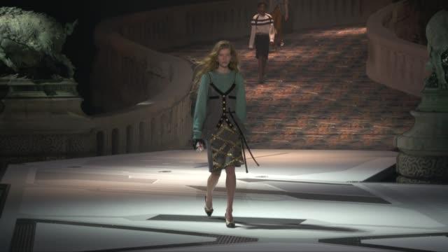 wide runway shots - louis vuitton designer label stock videos & royalty-free footage