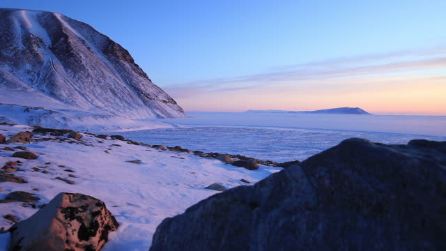 wide, scenic arctic landscape - wide stock videos & royalty-free footage