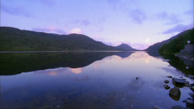 wide shot coast of croagh patrick / ireland - 2002 stock videos & royalty-free footage