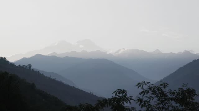 Wide shot, Himalayas mountain range