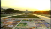 Wide shot of aids quit and great lawn with sunset video id928024042?s=170x170