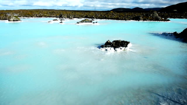 HD Wide Shot of Blue Lagoon, South Iceland