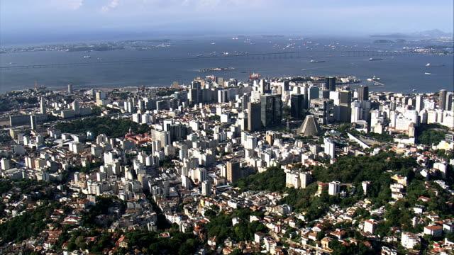 Wide Shot of Rio - Aerial View - Rio de Janeiro, Rio de Janeiro, Brazil