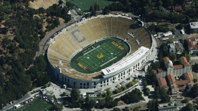 Wide shot of the California Memorial Stadium