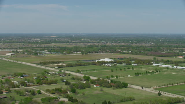 wide shot of the southfork ranch in parker - television show stock videos & royalty-free footage