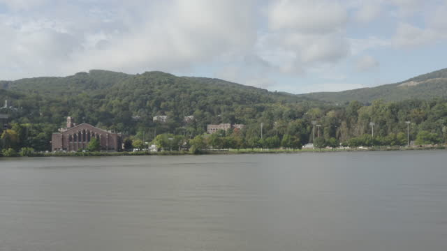 wide shot of the united states military academy - west point new york stock videos & royalty-free footage