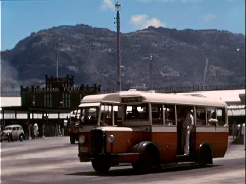 1939 Wide shot street scene/ Hong Kong
