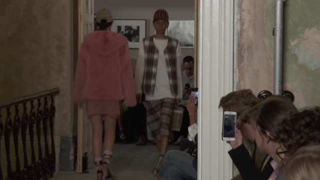 Wide shots and detail runway