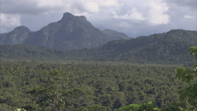 wide still shot of papua new guinea landscape - papua new guinea stock videos and b-roll footage