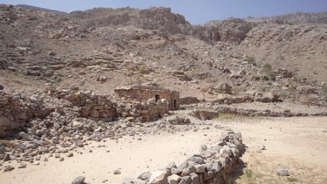 Wide, stone building in Ras al-Khaimah