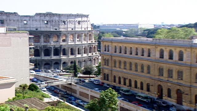 vídeos y material grabado en eventos de stock de wide view of the colosseum. - gladiador