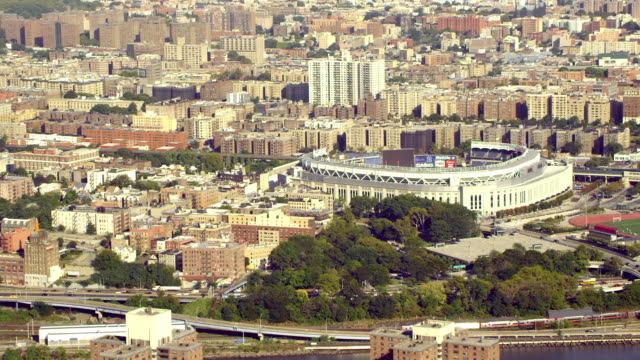Wide view of Yankee Stadium