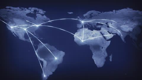 stockvideo's en b-roll-footage met wijde wereld netwerk - globaal