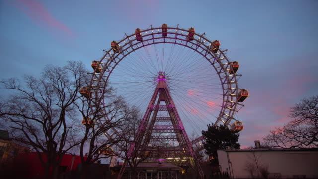 Wiener Riesenrad beleuchtet