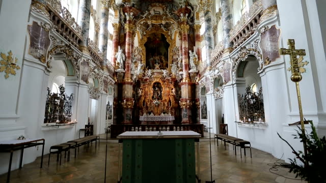 Wieskirche church in Germany