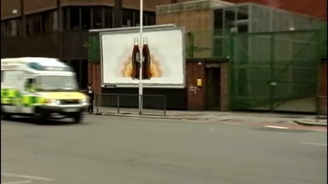 wife of 7/7 bomber suspected of involvement in terror plot; 7.7.2005 ambulances along tottenham court road - tottenham court road stock videos & royalty-free footage
