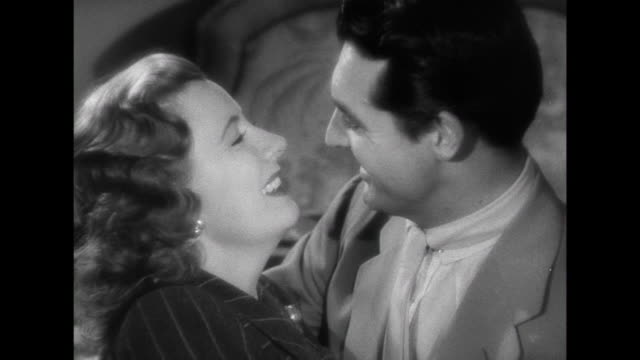 1941 Wife (Irene Dunne) tells husband (Cary Grant) that she is pregnant