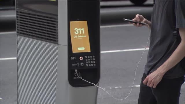 WPIX WiFi Kiosks in New York